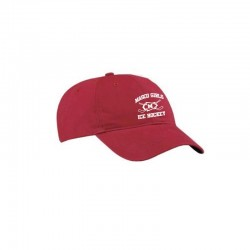 Masco Girls Hockey Brushed Twill Low Profile Baseball Cap