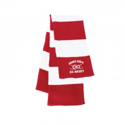 Masco Girls Hockey Rugby Striped Knit Scarf
