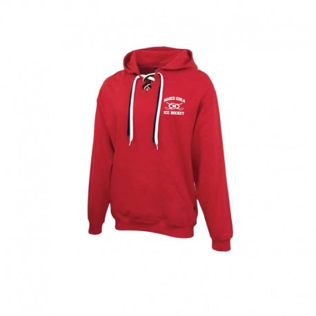 Masco Girls Hockey Faceoff 2-Lace Hoodie