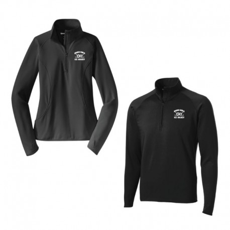 Masco Girls Hockey Mens and Ladies Sport-Wick 1/4 Zip Pullover