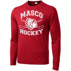 Masco Youth Hockey Long Sleeve Competitor Tee