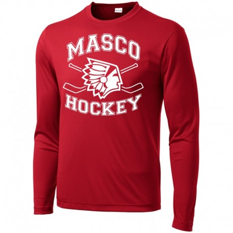 Masco Youth Hockey Long Sleeve Competitor Tee