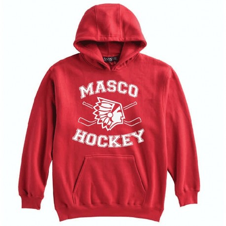 MYH Pennant Youth Hoodie - Red