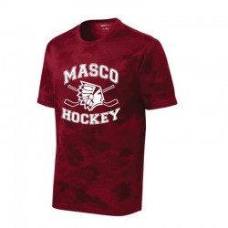 Masco Youth Hockey Performance Hex Camo Tee