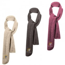 The Christ Initiative Heathered Knit Scarf