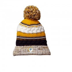 The Christ Initiative Pom Pom Team Beanie Hat