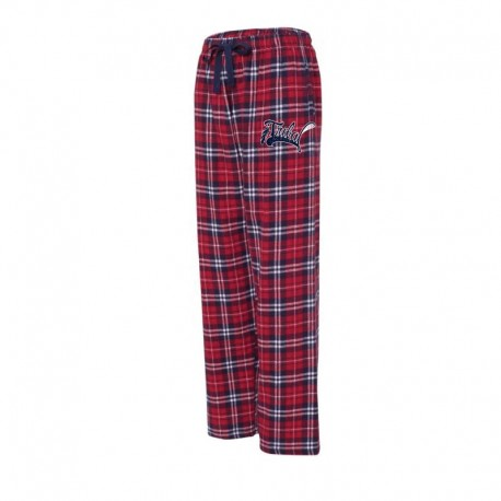 Tribal Boxercraft Navy/Red Flannel Pant