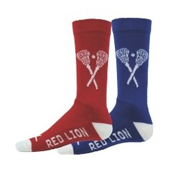 Tribal Red Lion X-Factor Crew Lacrosse Socks