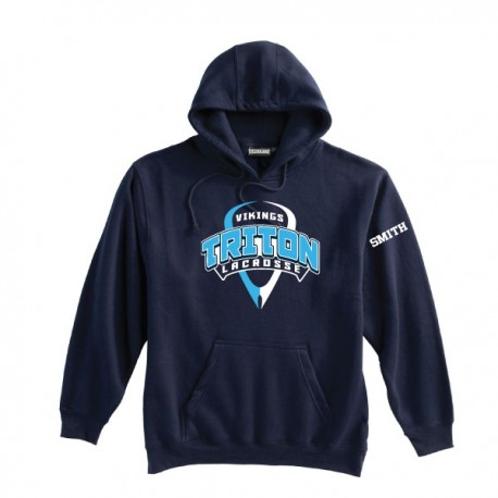 Triton Lacrosse Hooded Sweatshirt