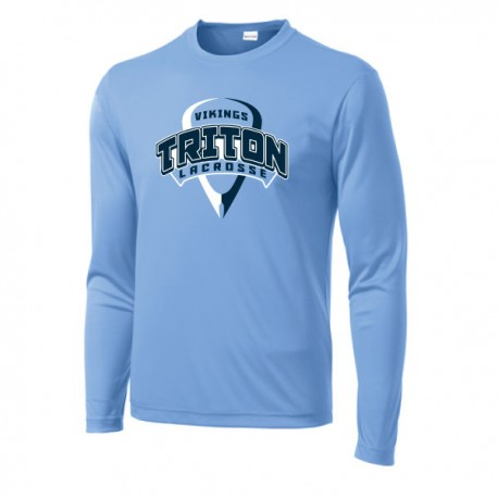 Triton Lacrosse Long Sleeve Performance Tee
