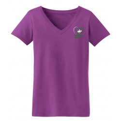Windrush Ladies V-Neck Short Sleeve Tee Shirt